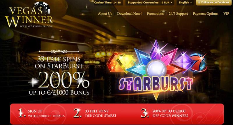 Vegas winner casino no deposit bonus code epiphone casino korean