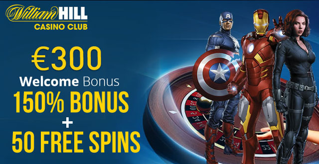 william hill online casino free spin games