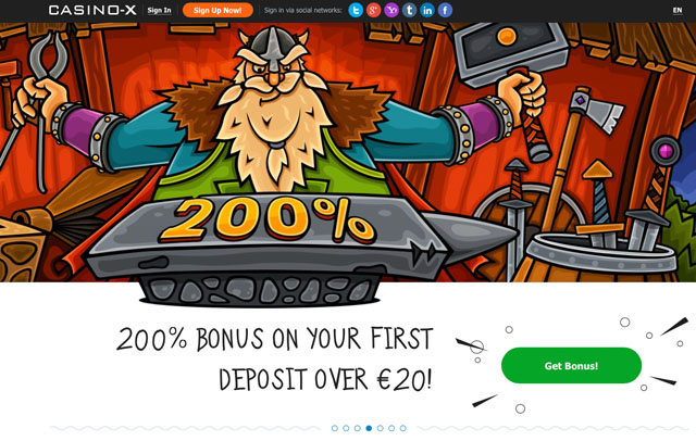 casino x бонус казино