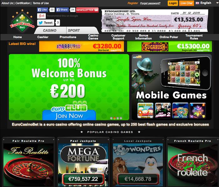 EuroCasinoBet Casino Review