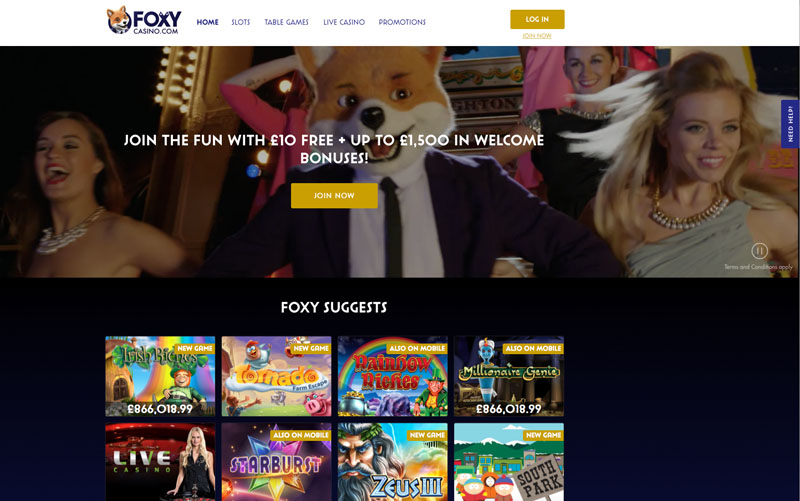 Foxy Casino Online Review With Promotions & Bonuses