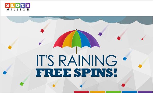 SlotsMillion-RainingFreeSpins