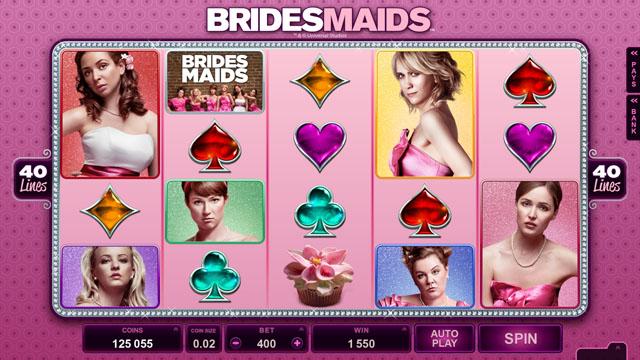 Bridesmaids online slot machine microgaming