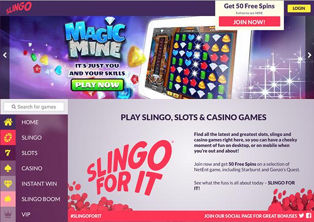 Slingo slots 50 free spins ultimate poker winning strategy