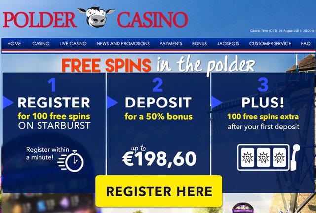 Polder-Casino-100 Starburst gratis spins geen storting vereist