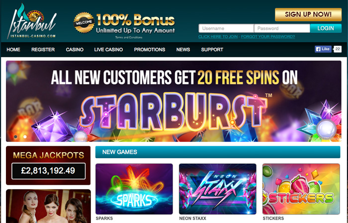 best online bonus casino starbrust