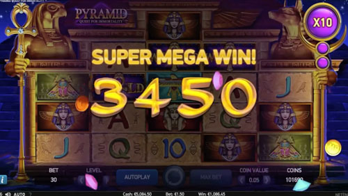 Pyramid Quest for Immortality Slot 1