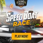 Win a Share of $/€/£10,000 in Cash & Free Spins in the Casino Cruise Speed Boat Race Promotion