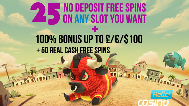 50 free spins no deposit hello casino