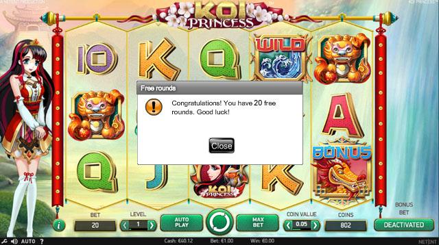 Koi-Princess-freespins-no-deposit-required