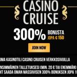 Suomen paras NetEnt kasino | 300% bonusta Casino Cruise
