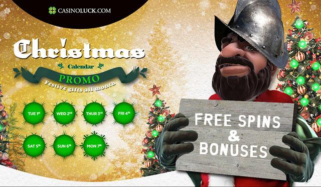 CasinoLuck-Christmas-FreeSpins-2015