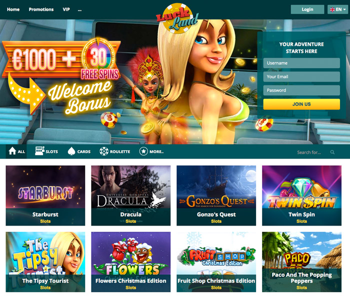 Casino luckland american roulette online free game