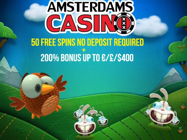 online casino 50 free spins no deposit