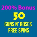 200% Bonus & 50 Guns N' Roses Slot Free Spins at 21Prive Casino, IstanBul Casino, G'Day Casino