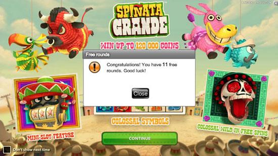 CasinoJEFE-11-FreeSpins-Spinata-Grande-NoDepositFreeSpins