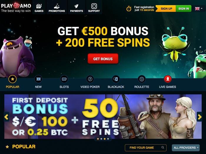 Playamo Casino Review - Playamo™ Slots & Bonus | playamo.com