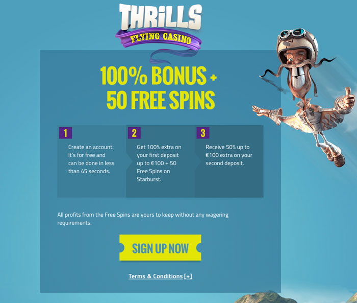 Thrills Casino | Play Golden Fish Tank | Get Free Spins