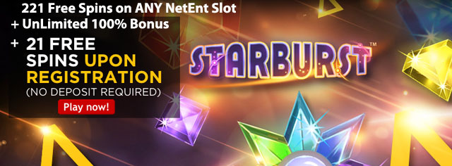twentyone-casino-221-FreeSpins-On-Any-NetEnt-Slot