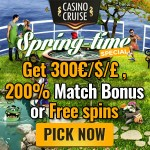 [ENDING SOON] Spring Time Offer at Casino Cruise: No Deposit Free Spins & Big Bonuses