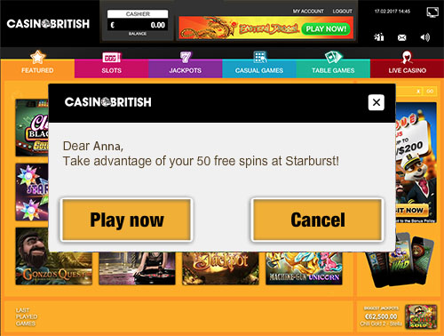Casino British Review