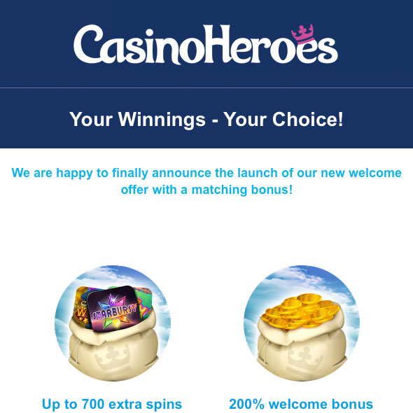 CasinoHeroes-New-Welcome-Offer