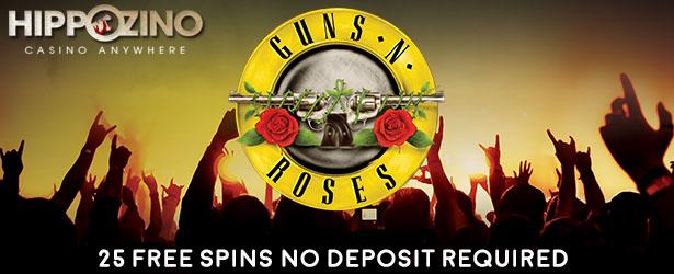 Up to €100 Bonus! Play Guns N Roses Slot at Mr Green