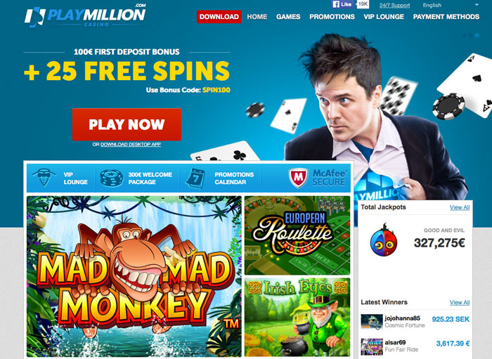 playmillion casino