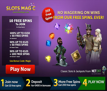 Slots Magic Casino Bonus code