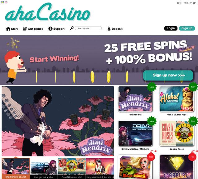 aha casino