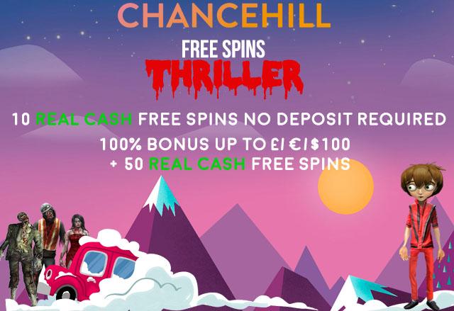 New Chance Hill Casino Bonus Code For No Deposit Free Spins