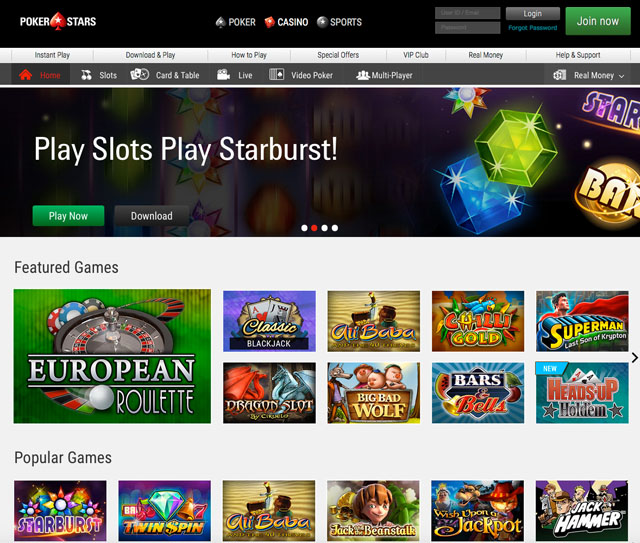 Free spins pokerstars casino