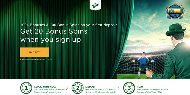 mr green casino no deposit bonus codes 2017
