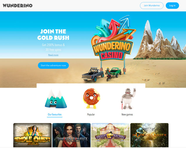 wunderino casino review