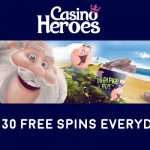 Get 30 When Pigs Fly Free Spins EVERYDAY at CasinoHeroes