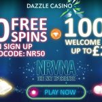 New Dazzle Casino No Deposit Free Spins Bonus Code for August 2016: unlock 50 Free Spins No Deposit Required