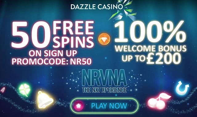 Dazzle Casino No Deposit Free Spins Bonus Code for August 2016