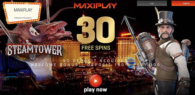 MaxiPlay Casino No Deposit Bonus Code for August 2016