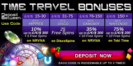 Time Travel Bonus Codes