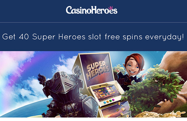 25 free spins casino heroes