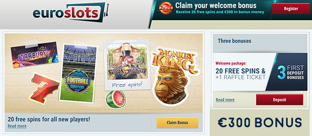 euroslots no deposit bonus codes
