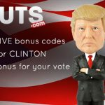 Is it Gonna Be TRUMP or CLINTON? Help decide & get a 150% Bonus at Guts Casino