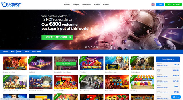 quasar gaming casino review