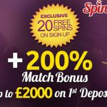 Now is the time to claim our EXCLUSIVE 20 No Deposit Free Spins & 200% Bonus at Spin Station Casino