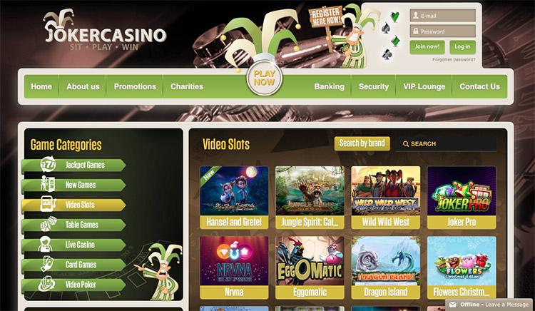 Joker Casino Review
