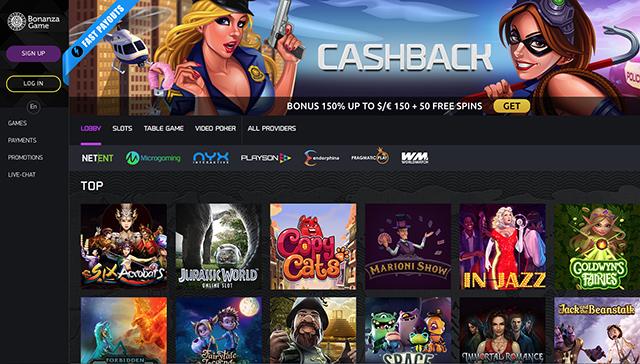 Bonanza Game Casino Review