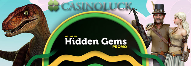 CasinoLuck July 2017 No Deposit Free Spins