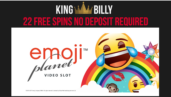 Emoji Planet No Deposit Free Spins