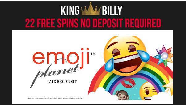 Emoji Planet No Deposit Free Spins