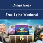 Haters gonna hate, but we'll keep on spinning! Free Spins Weekend at CasinoHeroes!